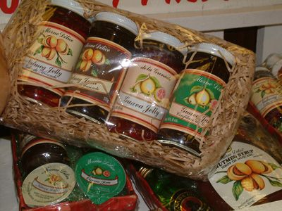 Nutmeg jams and jellies at De la Grenade Industries
