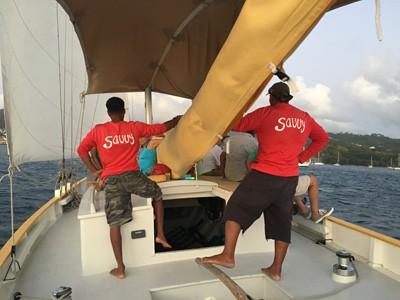 Sunset Sailing in Grenada