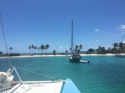 Sail on a Catamaran
