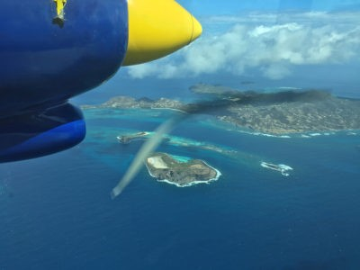 Fly to the Grenadines